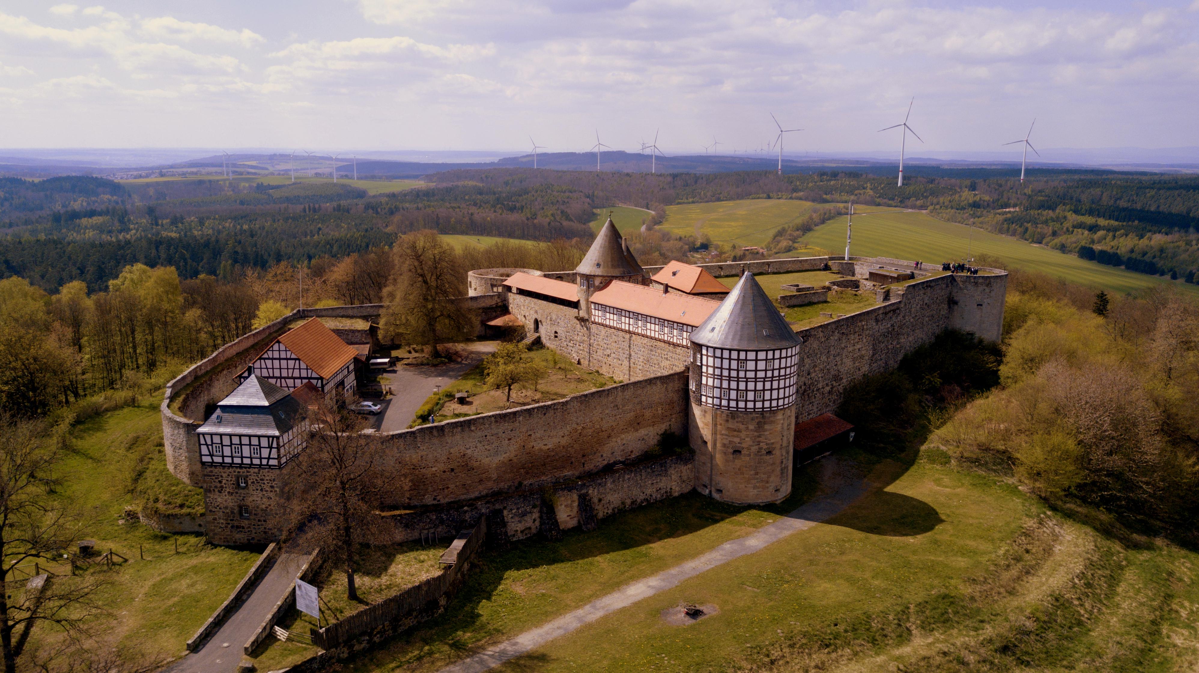 Burg Herzberg Duitsland